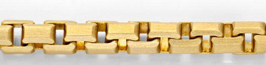 Foto 2, Venezianer Kette, massiv Gelbgold Satiniert, 14K Luxus!, K2015