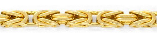 Foto 2, Königsketten Armband massiv Karabiner Verschluss Luxus!, K2039