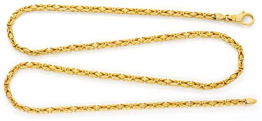 Foto 1, Massive Königskette Gelbgold 14K/585 44Gramm Luxus! Neu, K2057