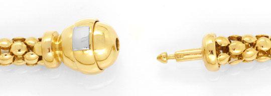 Foto 2, Himbeer-Schlauch-Kollier und Armband / Fusskette Luxus!, K2062