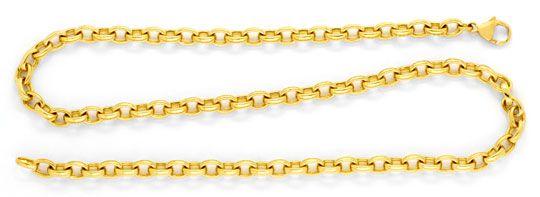 Foto 1, Massive Anker-Kette Goldkette, Gelb-Gold 18K/750 Luxus!, K2071