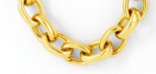 Foto 2, Massive Anker Kette Goldkette, Gelb Gold 18K/750 Luxus!, K2071
