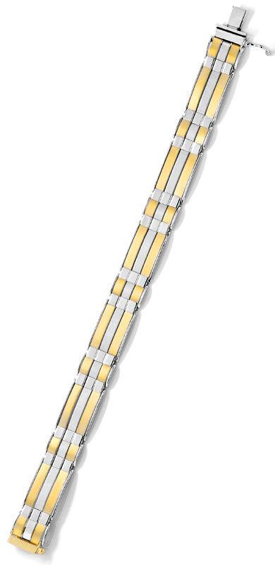 Foto 4, Designer Armband Gelb Weissgold Extrem Aufwendig Luxus!, K2081