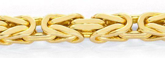 Foto 2, Königskette Königs Goldkette massiv Gelbgold Luxus! Neu, K2085