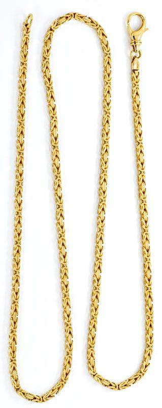 Foto 3, Königskette Königs Goldkette massiv Gelbgold Luxus! Neu, K2085