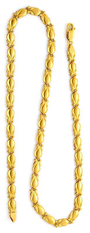 Foto 3, Phantasie Designer Gold Kette, 18K/750 Gelb Gold Luxus!, K2106