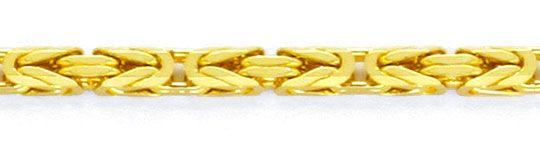 Foto 2, Königskette massive Goldkette Gelbgold 18K, 61cm Luxus!, K2111