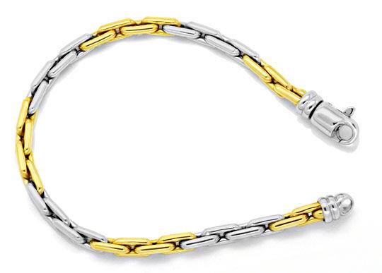 Foto 1, Goldkette, Goldarmband, Anker Gelbgold Weissgold Luxus!, K2113