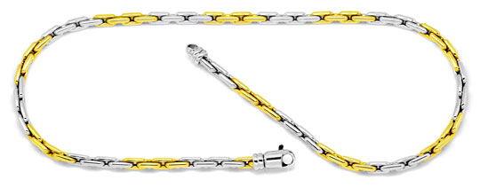 Foto 2, Goldkette, Goldarmband, Anker Gelbgold Weissgold Luxus!, K2113