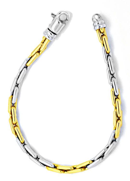 Foto 3, Goldkette, Goldarmband, Anker Gelbgold Weissgold Luxus!, K2113