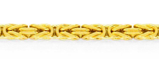 Foto 2, Königs-Kette Gold-Kette massiv 14K/585 Gelb-Gold Luxus!, K2120