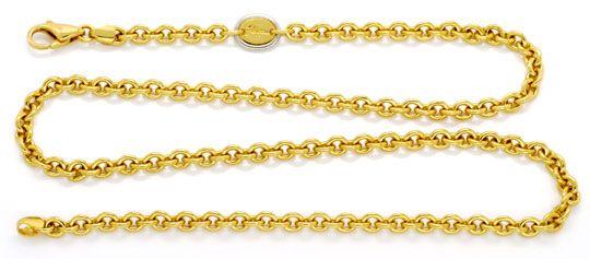 Foto 1, Massive Ankerkette Goldkette Filippini, Gold 18K Luxus!, K2128