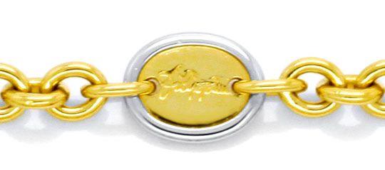 Foto 2, Massive Ankerkette Goldkette Filippini, Gold 18K Luxus!, K2128