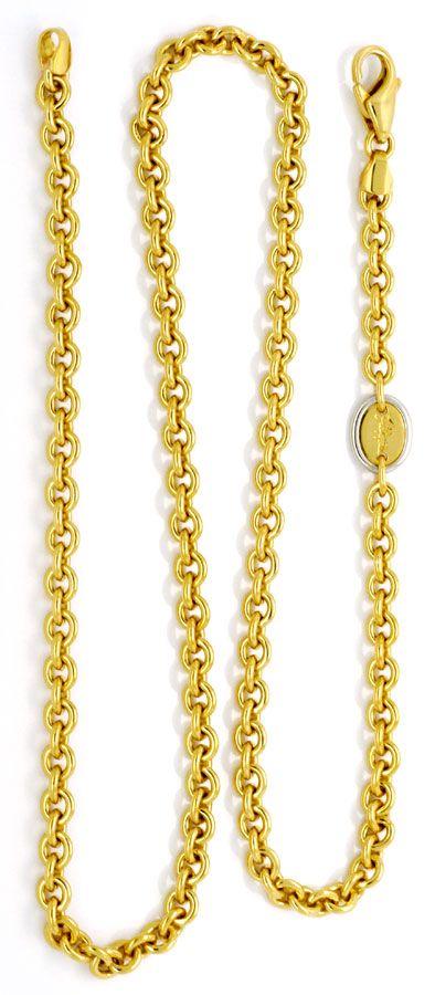 Foto 3, Massive Ankerkette Goldkette Filippini, Gold 18K Luxus!, K2128