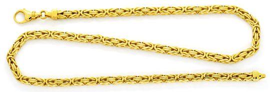 Foto 1, Massive Riesen Königskette, Goldkette 18K Gold, Schmuck, K2146