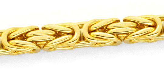 Foto 2, Massive Riesen Königskette, Goldkette 18K Gold, Schmuck, K2146