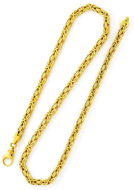 Foto 3 - Massive Riesen Königskette, Goldkette 18K Gold, Schmuck, K2146