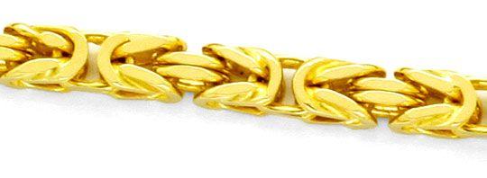 Foto 2, Massive Königskette 18K Gelbgold, 50cm Goldkette Luxus!, K2148