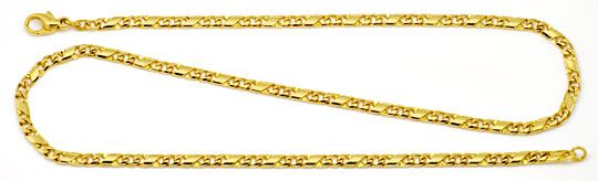 Foto 1, Dollar Kette Gold-Kette massiv Gelb-Gold 14K/585 Luxus!, K2174