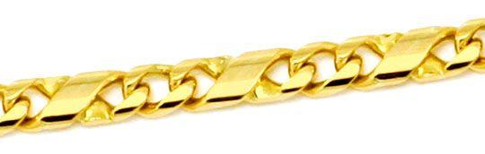 Foto 2 - Dollar Kette Gold Kette massiv Gelb Gold 14K/585 Luxus!, K2174