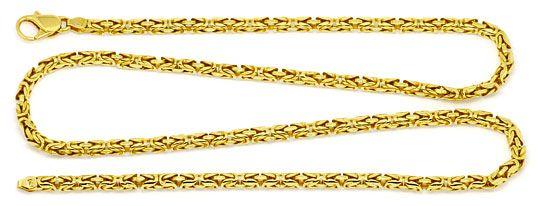 Foto 1 - Königskette seltene runde Ausführung, Goldkette 18K/750, K2198
