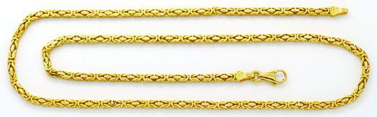 Foto 2, Königskette und Armband Königskette Gelbgold 14K massiv, K2219