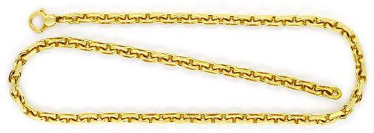 Foto 1 - Anker Kette Goldkette Gelbgold 14K/585 massiv Karabiner, K2246