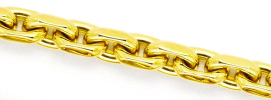 Foto 2 - Anker Kette Goldkette Gelbgold 14K/585 massiv Karabiner, K2246