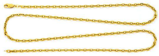 Foto 1, Ankerkette Goldkette Lange Gelbgold Anker-Kette 14K/585, K2285