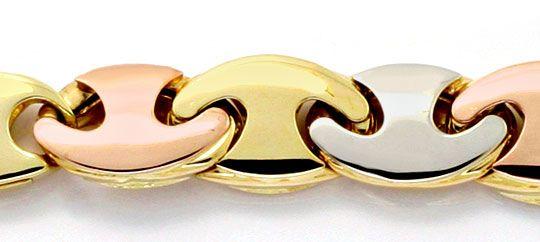 Foto 3, Traum-Designer Goldkette Rotgold Gelbgold Weissgold Neu, K2300