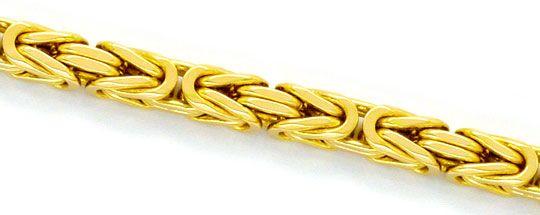 Foto 2, Super-Schwere Königskette Goldkette massiv Gelbgold 14K, K2325