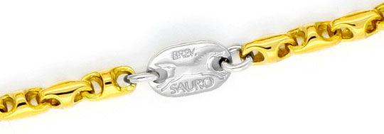 Foto 2, Sauro Designer Bohnen Marina Anker Schiffsanker 18K/750, K2335