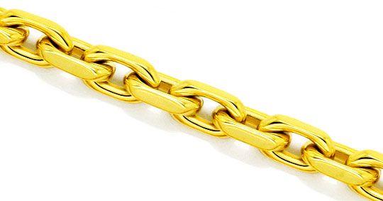 Foto 2, Supermassive Anker-Kette Goldkette massiv Gelb-Gold 18K, K2349