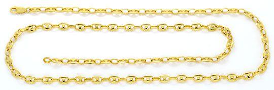 Foto 1, Marina Bohnen Schiffsanker Goldkette massiv 18Kgelbgold, K2364
