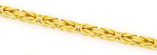 Foto 2, Massive Königskette Gold-Kette massiv Gelb-Gold 14K/585, K2384