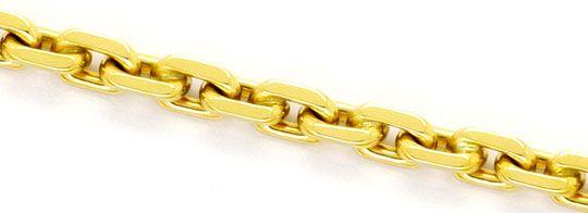 Foto 2, Ankerkette Goldkette Karabiner massiv Gelb-Gold 14K/585, K2391