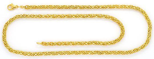 Foto 1, Phantasie Kordel-Goldkette Gelb-Gold 14K/585 Ungetragen, K2396