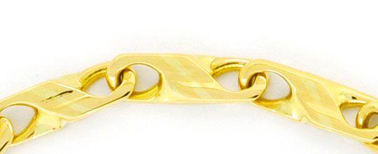 Foto 2, Designer Schmuckset Halskette und Armband, Dollar Anker, K2406