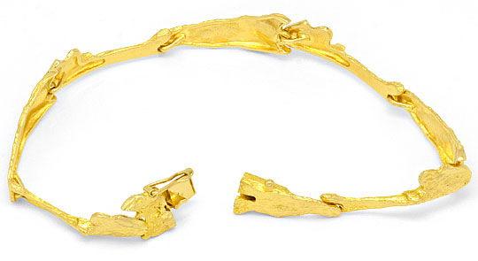 Foto 3, Lapponia Markenschmuck Design-Gold-Armband Gelbgold 14K, K2419