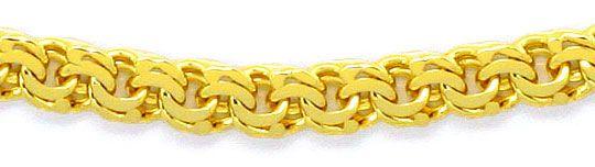Foto 2, Massive Garibaldi Goldkette im Verlauf in Gelb Gold 14K, K2456