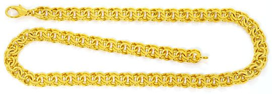 Foto 1, Garibaldi Goldkette Goldkollier massiv Gelbgold 14K/585, K2484