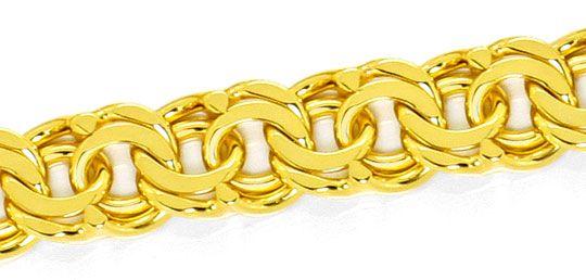 Foto 2, Garibaldi Goldkette Goldkollier massiv Gelbgold 14K/585, K2484