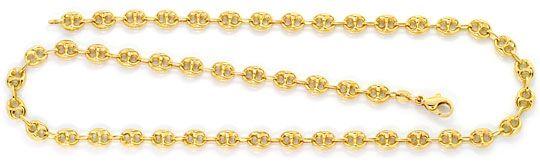 Foto 1, Bohnen  Marina  Schiffsanker Goldkette Gelbgold 14K/585, K2552
