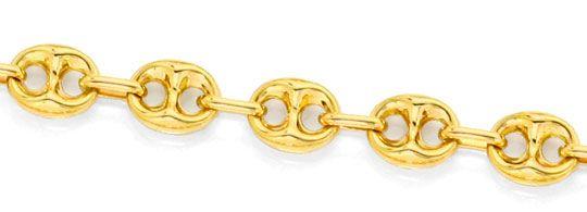 Foto 2, Bohnen  Marina  Schiffsanker Goldkette Gelbgold 14K/585, K2552
