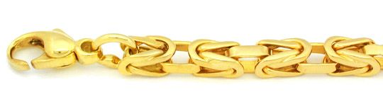 Foto 1, Neu!! Königs Kette massiv Gelbgold 14K Luxus! Portofrei, K2806