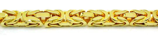 Foto 2, Königs Kette massiv Neu Gelbgold, Goldkette in 14 Karat, K2840