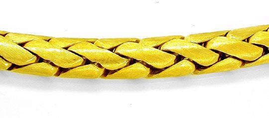 Foto 1, Designer Kollier Extra Massiv! Gelbgold 18K Luxus! Neu!, K2848
