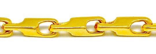 Foto 1, Massive Kette Gelbgold Typ Maurice, 14K/585 Luxus! Neu!, K2856