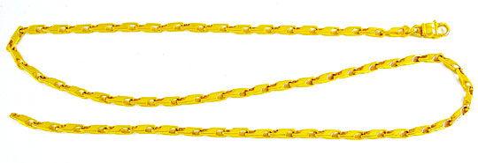 Foto 2, Massive Kette Gelbgold Typ Maurice, 14K/585 Luxus! Neu!, K2856