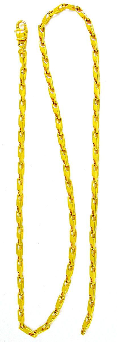 Foto 3, Massive Kette Gelbgold Typ Maurice, 14K/585 Luxus! Neu!, K2856